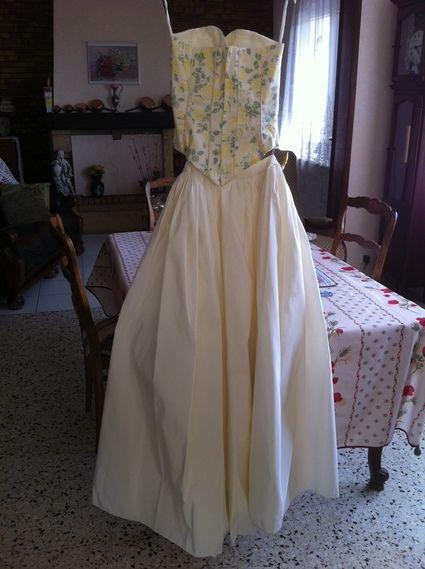 Robe de mariée d'occasion (jupe + bustier) en 2012 - Occasion du Mariage
