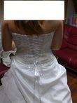 Robe de Mariée d'occasion avec traîne et collier