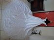 Robe mariée brodée blanche neuve style romantique