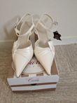 chaussures de mariée Carla Selvonne - neuve - Occasion du Mariage