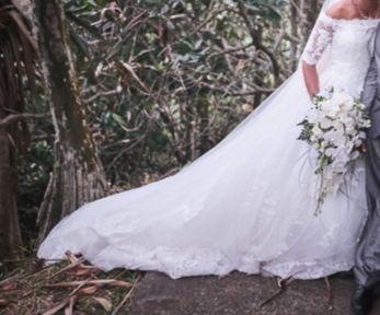 Robe de mariée s/m - Réunion