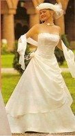 robe bustier ivoire - Occasion du Mariage