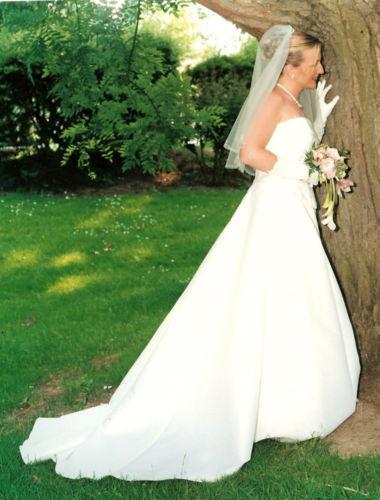 Robe de mariée Hervé Mariage pas cher Yvelines 2012 - Occasion du mariage