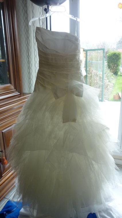 Robe de mariée Cymbeline Fauvette 2013  blanc naturel 42 d'occasion