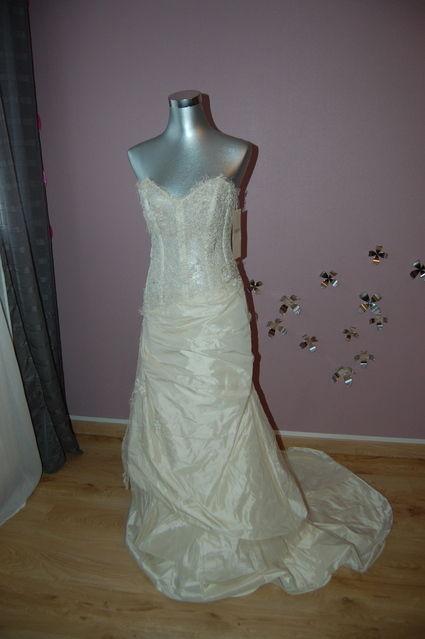 Robe de mariée Cymbeline T38-40 - Robe de mariage d'occasion en 2013