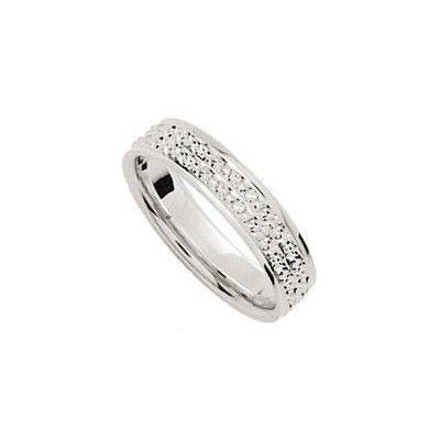 Alliance mariage Or Gris ciselée pas cher d'occasion 2012 - Haute Normandie  - Eure - Occasion du Mariage