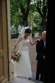 voile court transparent  - Occasion du Mariage