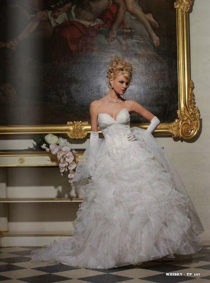 Robe de mariée Tomy mariage collection Prestige modèle Wisky