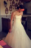 Magnifique robe de mariée San Patrick modèle princesse T40 - Occasion du Mariage