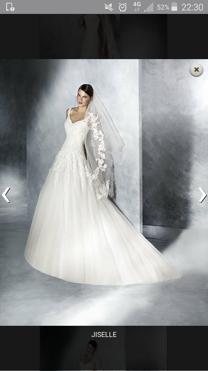 Robe de mariée neuve avec dentelle - Pyrénées Orientales
