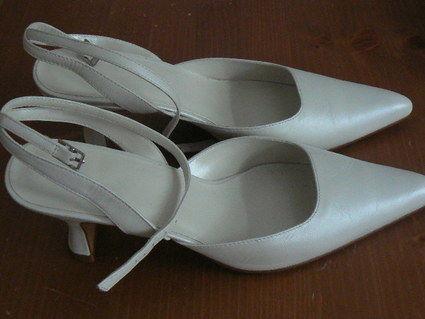 Chaussure pour mariée blanche T40 neuve