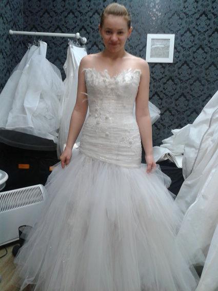 Sublime Robe de mariée Max Chaoul Ici et La en occasion