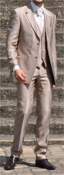 Costume Marié + accessoires d'occasion marque Guy Laurent modèle Walki