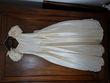 robe de mariée en soie sauvage et voile - Occasion du Mariage
