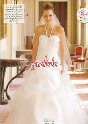 Robe de mariée et jupon pas cher 2012 - Occasion du mariage