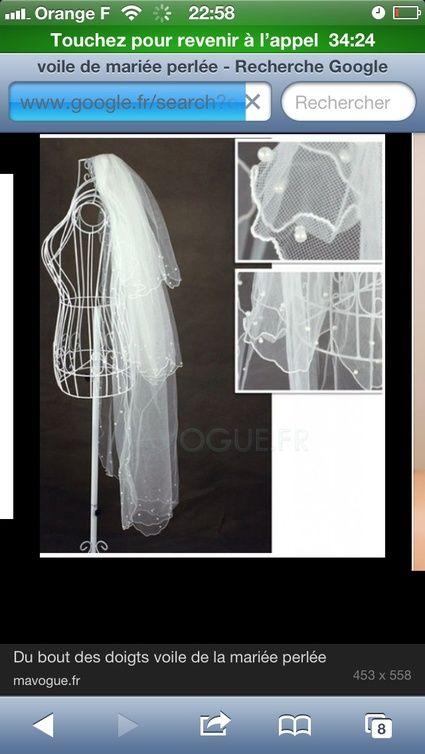 Voile de mariée + jupon + chaussures de mariage