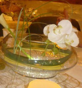 15 vases pour centre de tables en décoration de mariage 2013