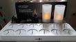 Lot 24 bougies chauffe-plat LED rechargeables + photophores - Occasion du Mariage