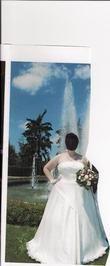 robe de mariée avec traîne amovible - Occasion du Mariage