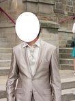 Costume marié ADIMO beige clair - Occasion du Mariage