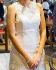 robe de mariée dentelle et perle Pronuptia - Occasion du Mariage