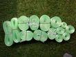 Lot de rubans verts menthe - Occasion du Mariage