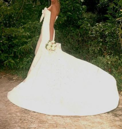 Superbe robe de mariée San Patrick modèle Cima, catégorie Class