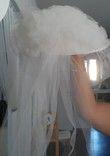 chapeau de mariée  ivoire - Occasion du Mariage
