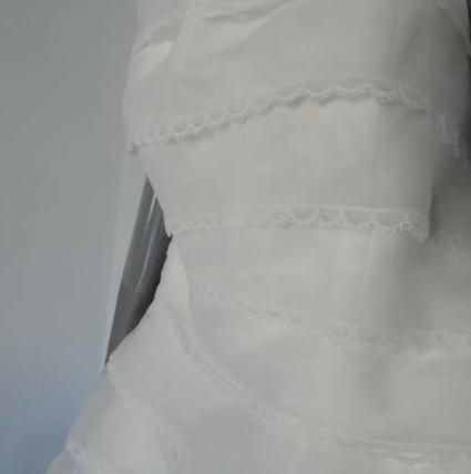 Robe de mariée d'occasion créateur Luis Santana 2012