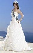 Robe mariée complicité miss france pas cher d'occasion 2012 - Bretagne - Ile et Vilaine - Occasion du Mariage