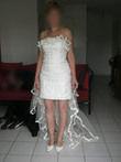 Robe de mariée courte T38 - Modèle Florence de Dany C - Occasion du Mariage