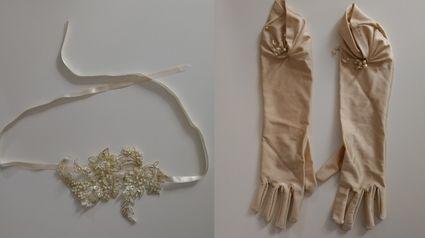 Jupe en soie sauvage et bustier en dentelle - Seine et Marne