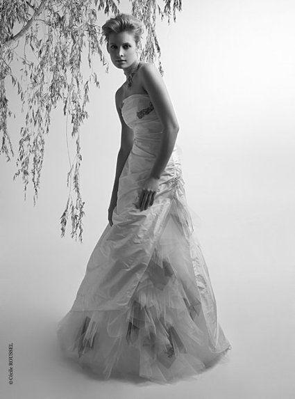 Robe de mariée neuve Bochet Créations T38/40 fabriquée en France