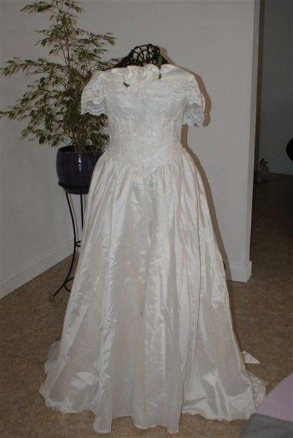 Robe mariée écrue d'occasion taille 38/40 - Occasion du Mariage
