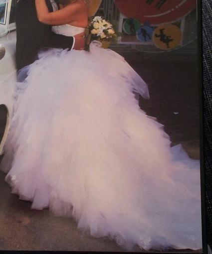Magnifique robe de mariée style Princesse pas cher - Occasion du Mariage