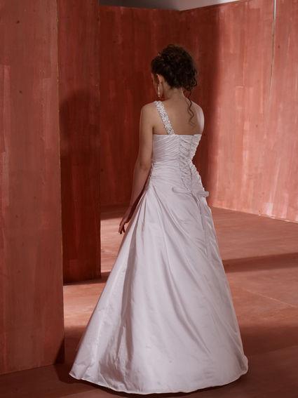 Robe de mariee T38 d'occasion avec jupon de la même taille