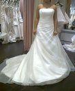 Robe de mariée organza collection 2012/2013 d'occasion T36/38