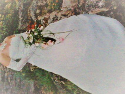 tenue de mariée complète taille 38 - Loire