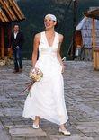 Robe de mariée de créateur Verica Rakocevic, modèle élégant et unique