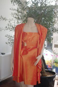Robe de cocktail bustier de mariage pas cher T 40/42  Alsace 2012 - Occasion du mariage