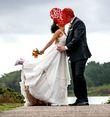 Robe de mariée luxe unique avec traîne rétractable T38 - Occasion du Mariage