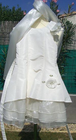 Robe de cérémonie pour enfant 6 ans pas cher d'occasion 2012 - Languedoc Roussillon - Hérault - Occasion du Mariage