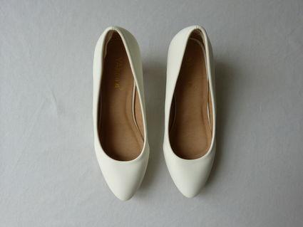 Escarpins blancs/Ivoires - 38 - Yvelines