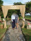 Portique photobooth - Occasion du Mariage