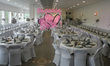 housse de chaise noeuds chandelier déco de mariage - Occasion du Mariage