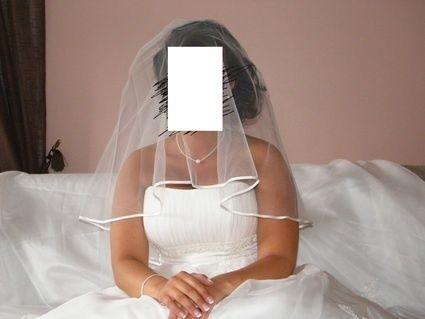 Robe de mariée à bustier d'occasion T42-46