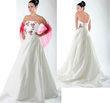 Robe de mariée avec broderie couleur - Occasion du Mariage