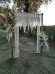 arche en macramé - Occasion du Mariage