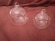 Boules en verre photophores à suspendre  - Occasion du Mariage