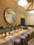 Bouteilles bleues LED décoration de table de mariage - Occasion du Mariage